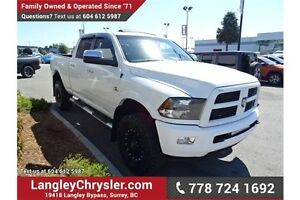 2012 RAM 3500 Laramie w/Navigation, Leather Int. & Sunroof