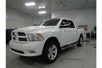 2012 RAM 1500 Sport Well Equipped with leather and sunroof