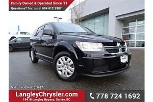 2016 Dodge Journey CVP/SE Plus LOCALLY DRIVEN & ACCIDENT FREE