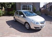 Vauxhall Corsa Breeze 2008 1.2l 5r in Silver Only 49900 miles!