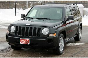 2010 Jeep Patriot Sport/North   4x4   CERTIFIED + E-Tested