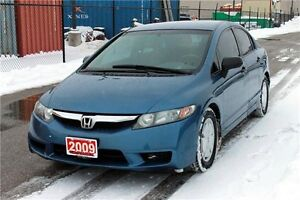 2009 Honda Civic DX-G | CERTIFIED + E-Tested Kitchener / Waterloo Kitchener Area image 1