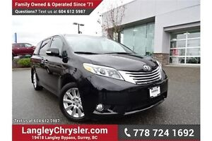 2015 Toyota Sienna Limited 7-Passenger LOCALLY DRIVEN & ACCID...