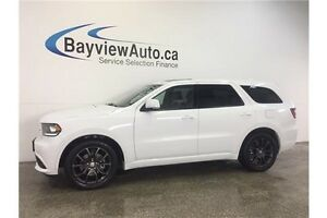 2016 Dodge DURANGO R/T- HEMI! AWD! SUNROOF! LEATHER! NAV!