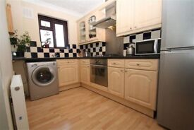 One bedroom, unfurnished, first floor flat, to let.