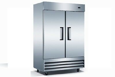 Commercial Double Door Reach In Refrigerator Cooler