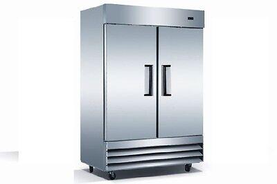 Commercial Double Door Reach In Refrigerator Cooler