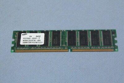 Samsung M368L3223FTN-CB3 256MB DDR PC2700U DDR Desktop Ram 256 Mb Ddr