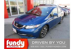 2015 Honda Civic EX LANE WATCH - TOUCH SCREEN - HEATED SEATS!