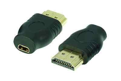 High Speed HDMI-Adapter | micro HDMI-Buchse(D) auf HDMI-Stecker(A) | #DA552