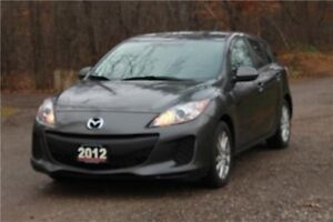 2012 Mazda 3 GX | ONLY 71K | Bluetooth | CERTIFIED
