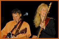 Folk Concert with Saskia and Darrel. The Great Plains.