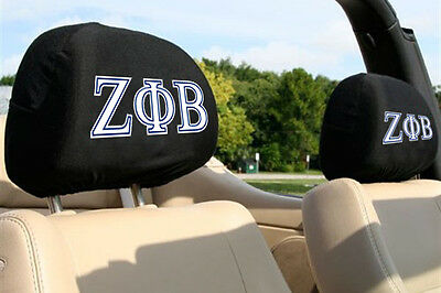 Zeta Phi Beta Auto SUV Head Rest Covers  *See My Feedback*