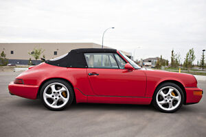 1990 PORSCHE 911 / 964 CABRIOLET - AIR COOLED BEAUTY