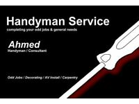 Professional Handyman Looking For Odd Jobs