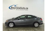 2012 Honda CIVIC - 5 SPEED! 1.8L! A/C! BLUETOOTH! CRUISE!
