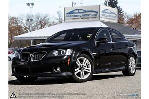 2009 Pontiac G8 leather loaded