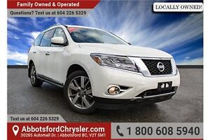 2014 Nissan Pathfinder Platinum Locally Owned!