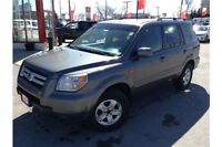 2008 HONDA PILOT LX - 4WD - 3.5L 6CYL - LARGE CARGO SPACE