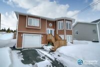Beautiful split entry home with extra space inside and out