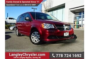 2015 Dodge Grand Caravan SE/SXT LOCALLY DRIVEN, ONE OWNER & A...