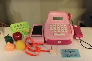 Battat Cash Register Toy with accessories