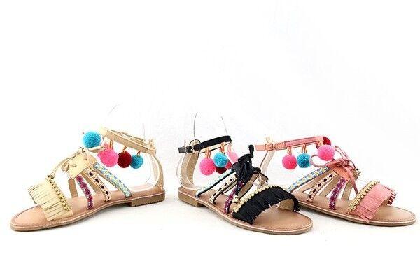 Sommer Hippie Damen Vergleich Test Schuhe eEHY2WDI9