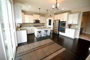 3 Bedroom home with heated double garage