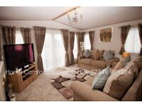 Beautiful top of the range caravan for hire Towyn North Wales