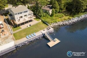 Spectacular waterfront property in Bedford