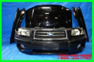 JDM Subaru Forester SG5 Front End Conversion 2003 2004 2005