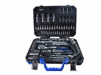 "BRAND NEW !! BERGEN 94pc METRIC 1/4-1/2"" Comprehensive Socket Wrench set B1082"