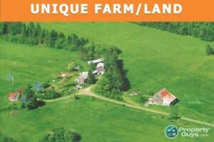 Antigonish: On 75 ac, 2 homes, outbuildings & renewal energy +++
