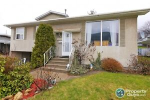 Check the potential on this one! 4 bdrm home in Trail BC 198259