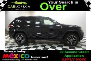 2017 Jeep Grand Cherokee TRAILHAWK 4X4 - LOW KMS**SUNROOF**NAV
