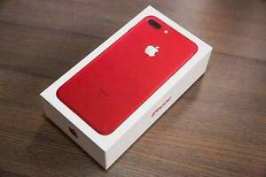 new in box iphone 7plus red