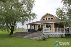 Chalet style home on double lot on Shortts Lake!