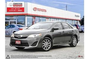2013 Toyota Camry LE One Owner, No Accidents, Toyota Serviced