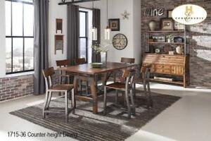 Counter-height Dining Set on Sale - Industrial Look (BD-2320)