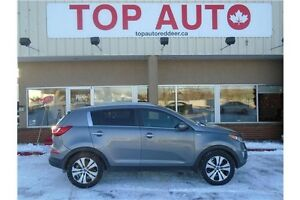 2013 Kia Sportage EX Luxury LEATHER LOADED!