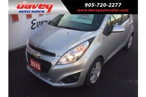 2015 Chevrolet Spark 1LT CVT BLUETOOTH, MP3 INPUT, TOUCH SCRE...