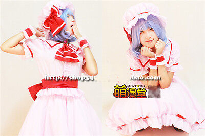 Hot Anime The Touhou Project Remilia Scarlet Cosplay - Remilia Scarlet Cosplay Kostüm