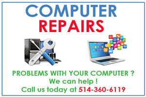 Computer Repair & Service - Laptop, Desktop - Free Estimate