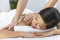 Enjoy a relaxing massage - first one is free