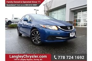 2013 Honda Civic LX LOCALLY DRIVEN & ACCIDENT FREE