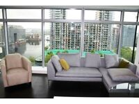 ** Delightful two bedroom, two bathroom apartment on the 12th floor of Pan Peninsula's East Tower CB