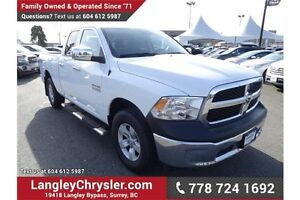 2016 RAM 1500 ST w/ Power Accessories & A/C