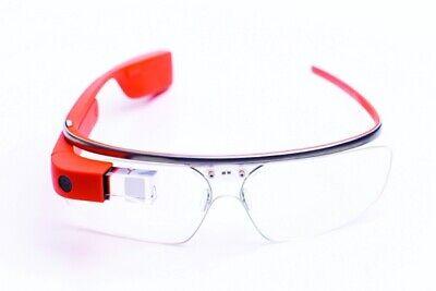 Google Glass Explorer Edition XE-C Tangerine + Active Shade