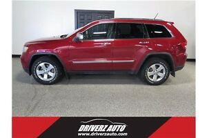 2011 Jeep Grand Cherokee Limited SUNROOF, AWD, BU CAM, BLUETOOTH