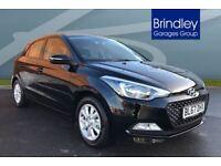 Hyundai I20 1.2 SE 5dr (black) 2017